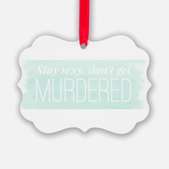 Funny Podcast Ornament
