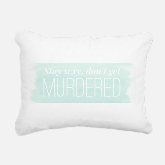 Cool Podcast Rectangular Canvas Pillow