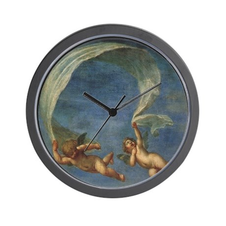 Vintage Angels by Albani Wall Clock