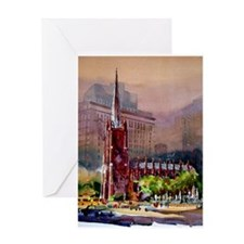 Trinity Church, NY Greeting Card