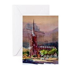 Trinity Church, NY Greeting Cards (Pk of 10)