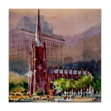 Trinity Church Tile Coaster