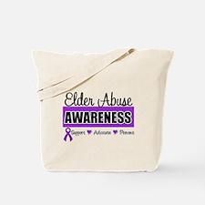 ElderAbuse Awareness Tote Bag