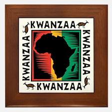 Kwanzaa Framed Tile