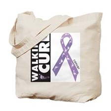 Lavender ribbon for cancer Tote Bag