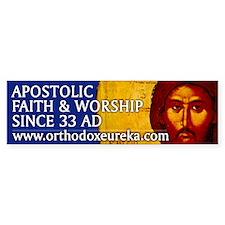 Apostolic Faith Gifts Bumper Car Sticker