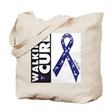 Blue Ribbon for Arthritis Tote Bag
