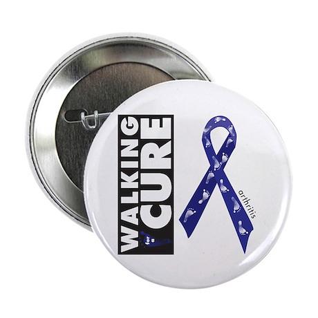 "Blue Ribbon for Arthritis 2.25"" Button (100 pack)"