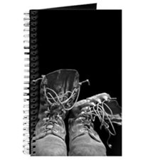 Cute Boots or hearts Journal