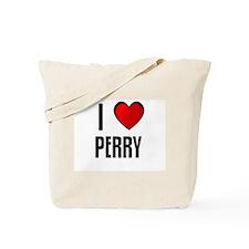 I LOVE PERRY Tote Bag
