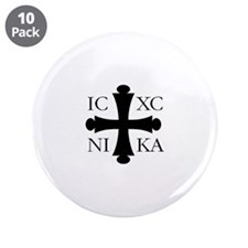 "ICXC NIKA 3.5"" Button (10 pack)"