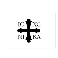ICXC NIKA Postcards (Package of 8)