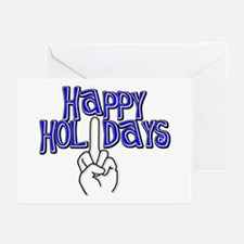 happy holidays middle finger Hanukkah cards