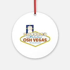 Osh Vegas Ornament (Round)