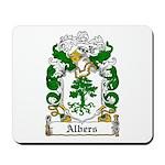 Albers Coat of Arms Mousepad