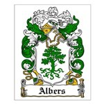 Albers Coat of Arms Small Poster