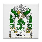 Albers Coat of Arms Tile Coaster