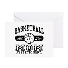 Basketball Mom Greeting Cards (Pk of 10)