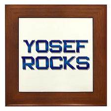 yosef rocks Framed Tile