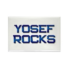 yosef rocks Rectangle Magnet