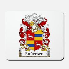 Andersen Coat of Arms Mousepad