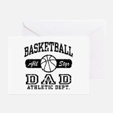 Basketball Dad Greeting Cards (Pk of 10)