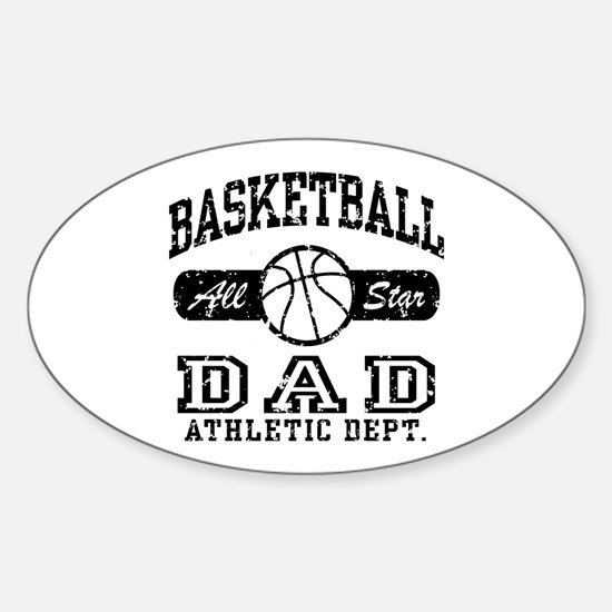 Basketball Dad Oval Decal