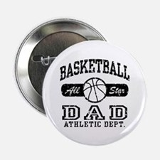 "Basketball Dad 2.25"" Button"