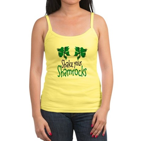 Shake Your Shamrocks Jr. Spaghetti Tank