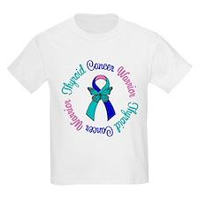 ThyroidCancerWarriorButterfly T-Shirt