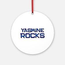 yasmine rocks Ornament (Round)