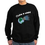 Make A Wish Asteroid Sweatshirt (dark)