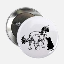 """TLC dog and cat logo 2.25"""" Button (10 pack)"""