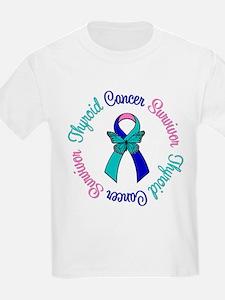 ThyroidCancerSurvivorButterfly T-Shirt