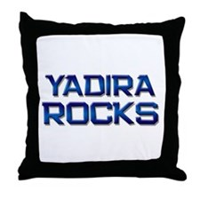 yadira rocks Throw Pillow