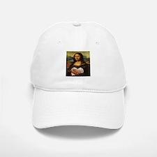 Mona Lisa Lhasa! Baseball Baseball Cap