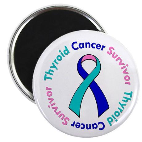 Thyroid Cancer Survivor Magnet