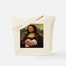 Mona Lisa Lhasa! Tote Bag