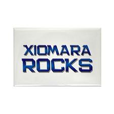 xiomara rocks Rectangle Magnet