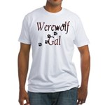Werewolf Gal Fitted T-Shirt