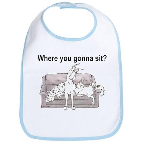 4 Where U Gonna Sit? Bib