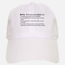 Bella Definition Baseball Baseball Cap