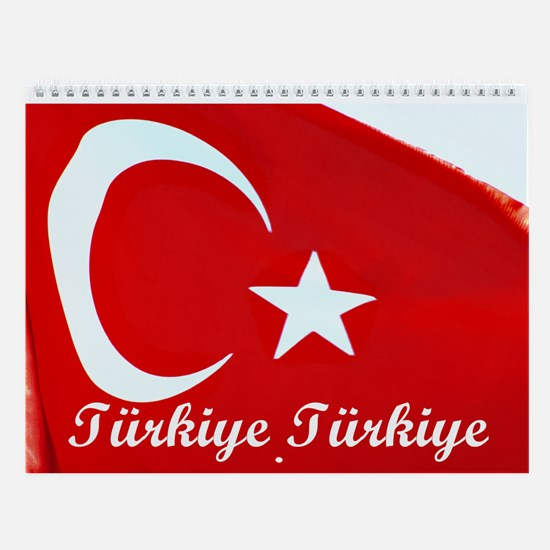 Turkey with Everything Wall Calendar