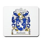 Axelsen Coat of Arms Mousepad