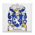 Axelsen Coat of Arms Tile Coaster