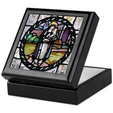 St Rose of Lima window Keepsake Box
