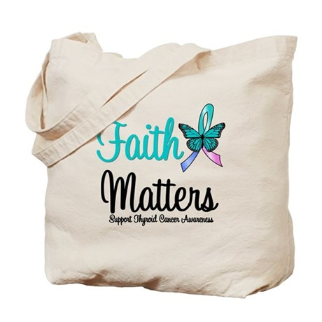 ThyroidCancerFaithMatters Tote Bag