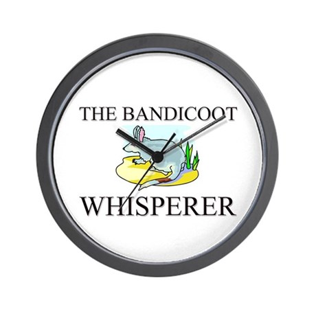 The Bandicoot Whisperer Wall Clock