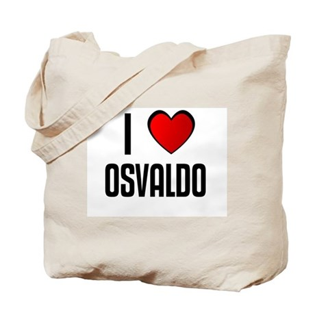 I LOVE OSVALDO Tote Bag