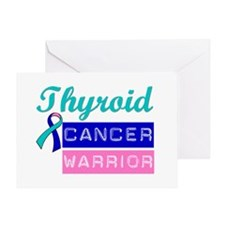 TC Cancer Warrior Greeting Card